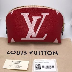 New Louis Vuitton Giant Monogram Cosmetic Pouch